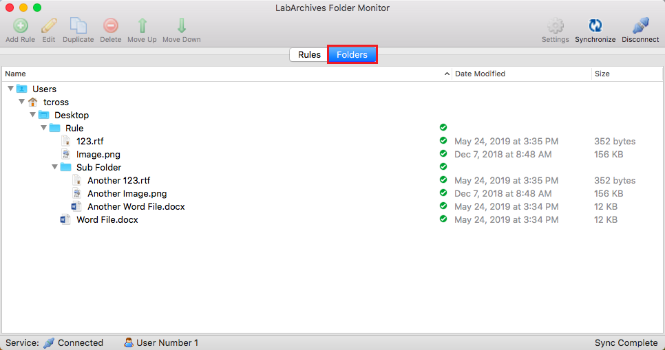 7 01 2 LabArchives Folder Monitor for Mac - Powered by Kayako Help